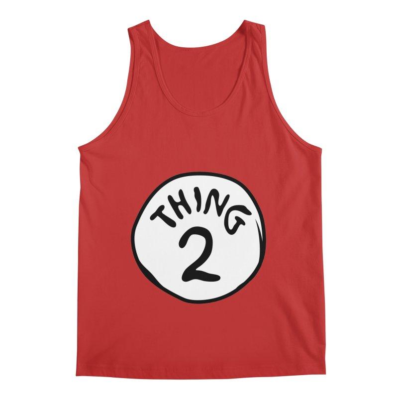 Thing 2 Men's Regular Tank by CardyHarHar's Artist Shop