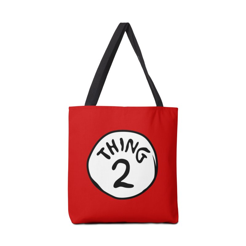 Thing 2 Accessories Tote Bag Bag by CardyHarHar's Artist Shop
