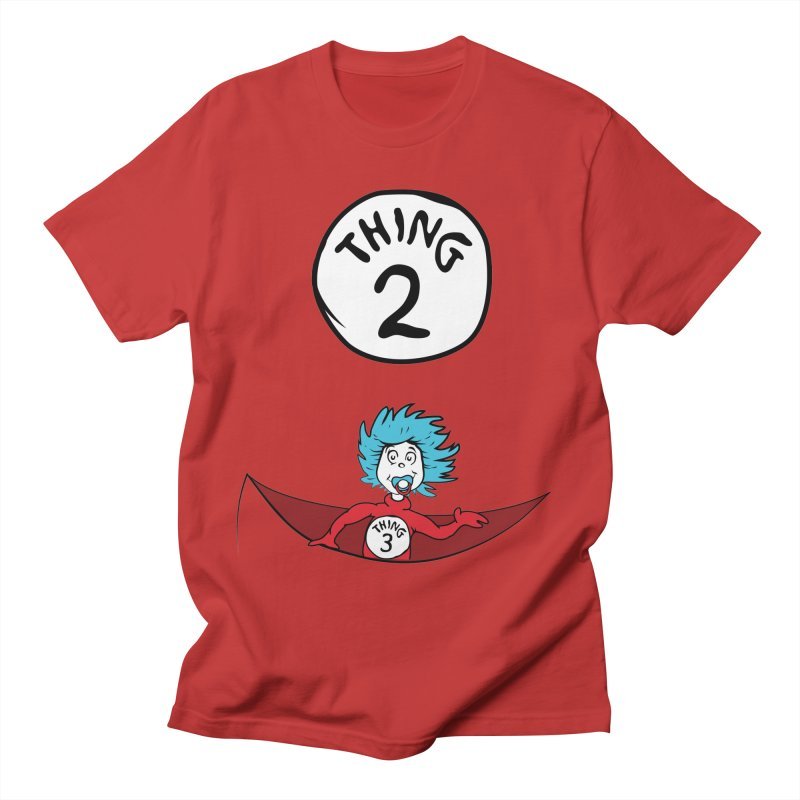 Thing 2 and Baby Thing 3 Women's Regular Unisex T-Shirt by CardyHarHar's Artist Shop