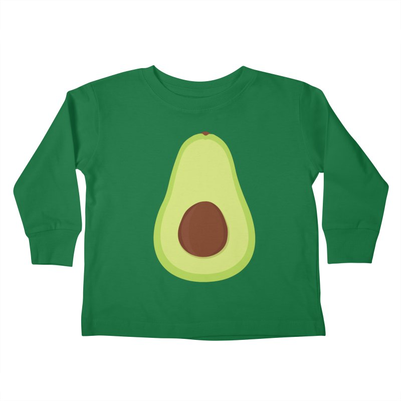 I'm an avocado! Kids Toddler Longsleeve T-Shirt by CardyHarHar's Artist Shop