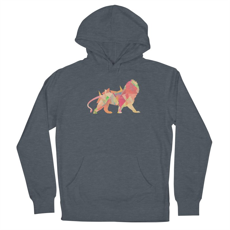 Poly Lion Men's Pullover Hoody by Carli's Artist Shop