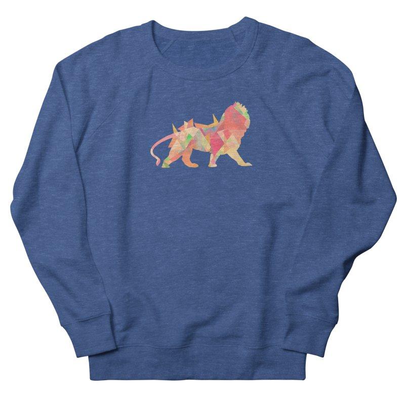 Poly Lion Women's Sweatshirt by Carli's Artist Shop