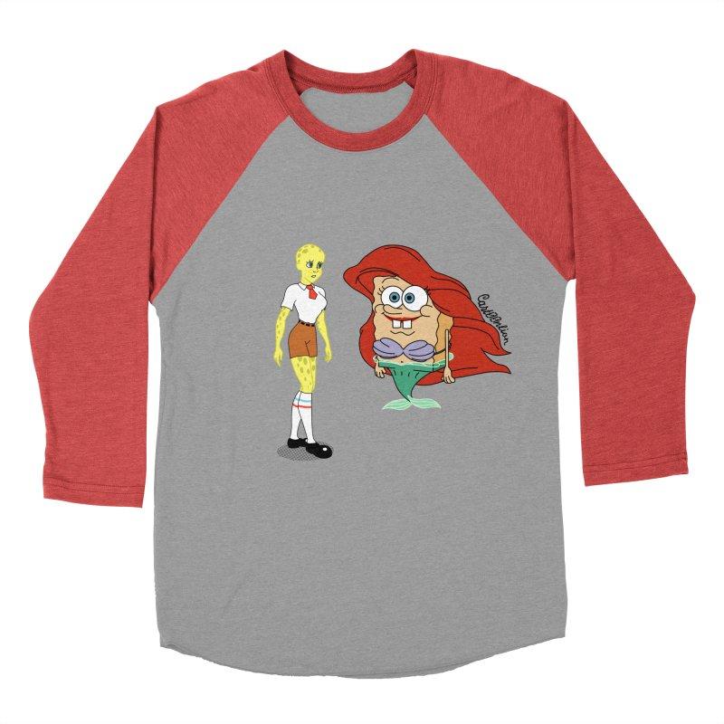 Little Merbob Maidpants Women's Baseball Triblend T-Shirt by Cart00nlion's Artist Shop
