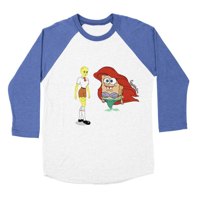 Little Merbob Maidpants Men's Baseball Triblend T-Shirt by Cart00nlion's Artist Shop