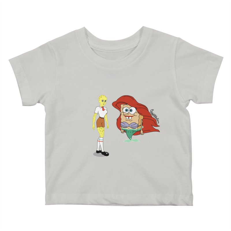 Little Merbob Maidpants Kids Baby T-Shirt by Cart00nlion's Artist Shop