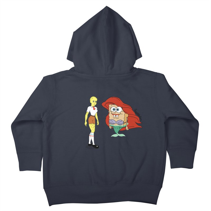 Little Merbob Maidpants Kids Toddler Zip-Up Hoody by Cart00nlion's Artist Shop