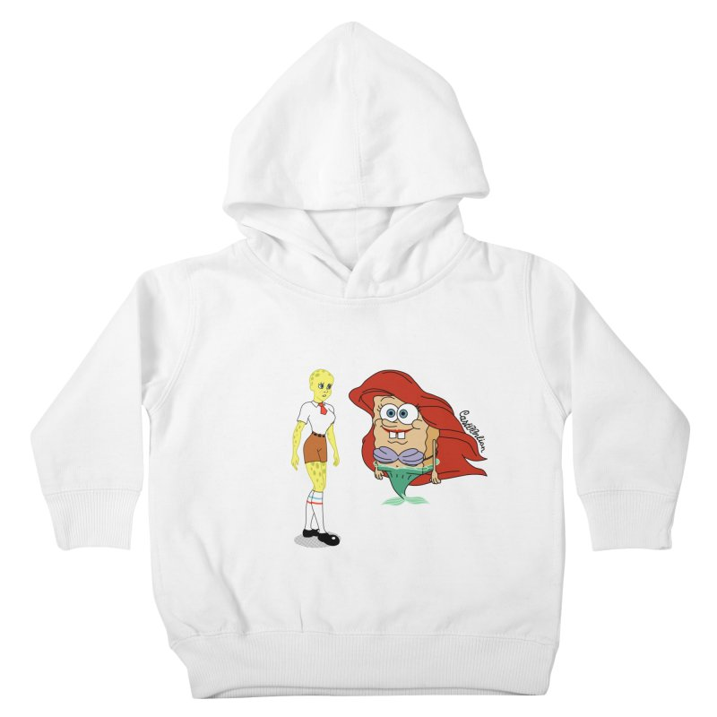 Little Merbob Maidpants Kids Toddler Pullover Hoody by Cart00nlion's Artist Shop