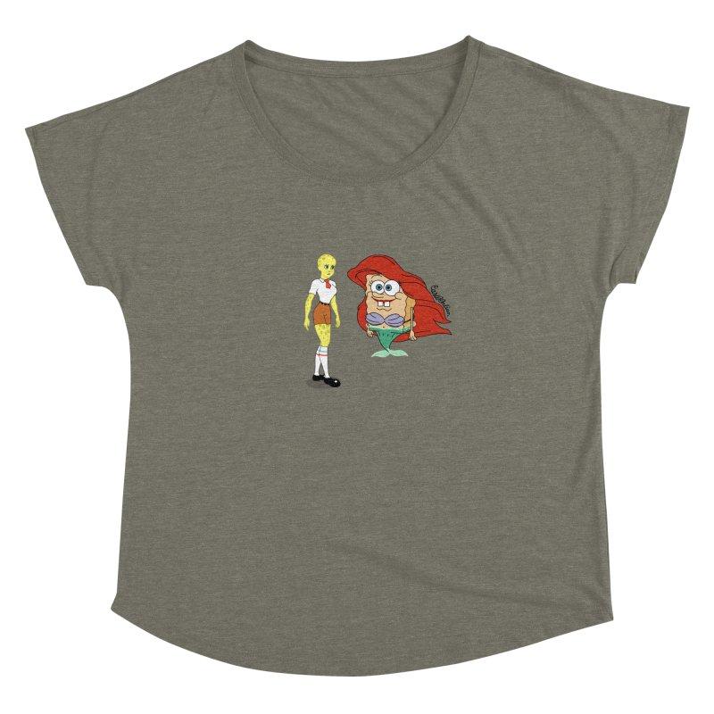 Little Merbob Maidpants Women's Dolman by Cart00nlion's Artist Shop