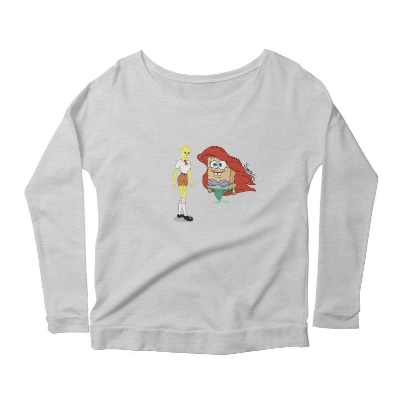 Little Merbob Maidpants Women's Scoop Neck Longsleeve T-Shirt by Cart00nlion's Artist Shop