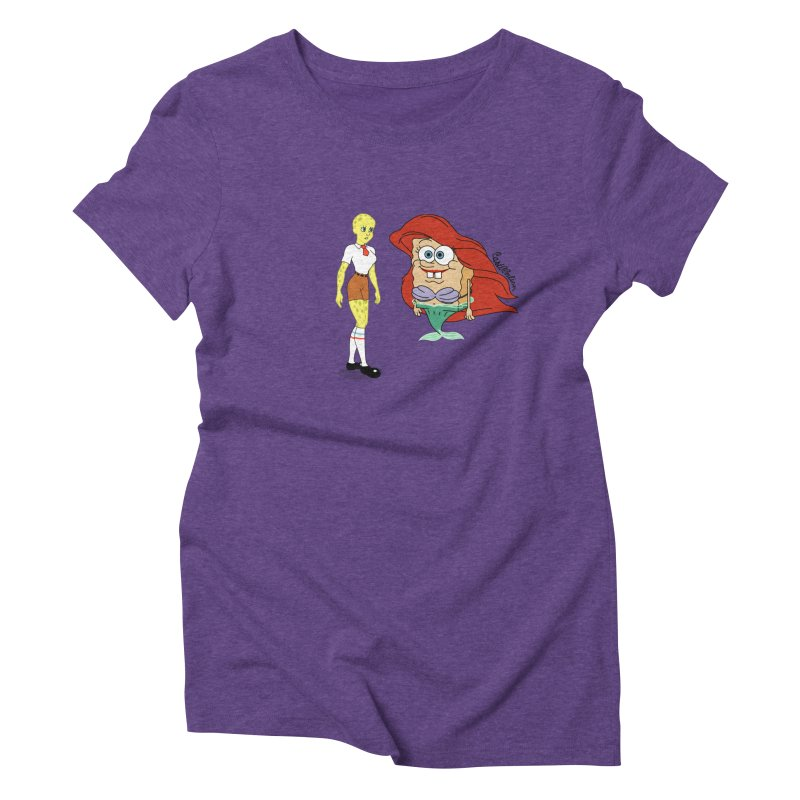 Little Merbob Maidpants Women's Triblend T-shirt by Cart00nlion's Artist Shop