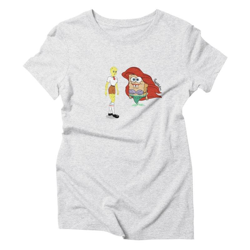 Little Merbob Maidpants Women's Triblend T-shirt by Cart00nlion's Artist Shop
