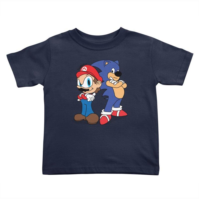 Maronic Kids Toddler T-Shirt by Cart00nlion's Artist Shop