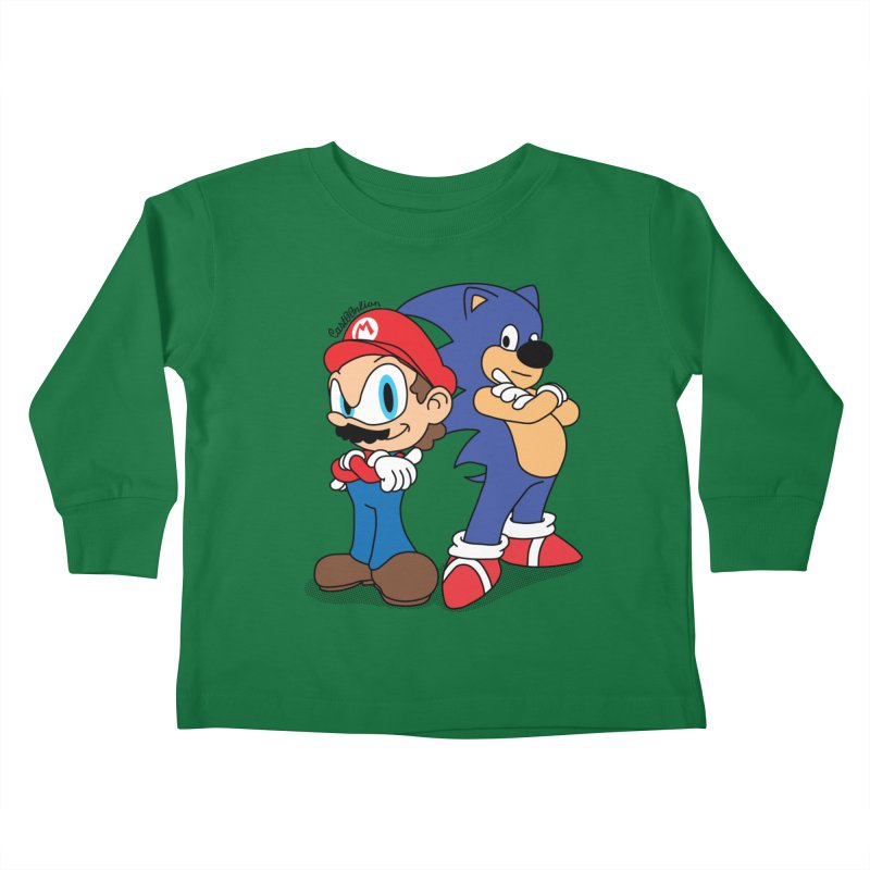 Maronic Kids Toddler Longsleeve T-Shirt by Cart00nlion's Artist Shop