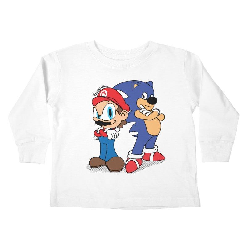 Maronic Kids Toddler Longsleeve T-Shirt by Cart00nlion's Artist Shop