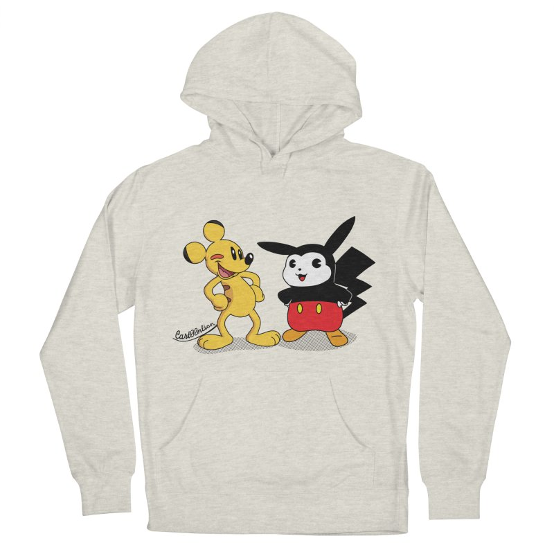 Mickachu Men's Pullover Hoody by Cart00nlion's Artist Shop