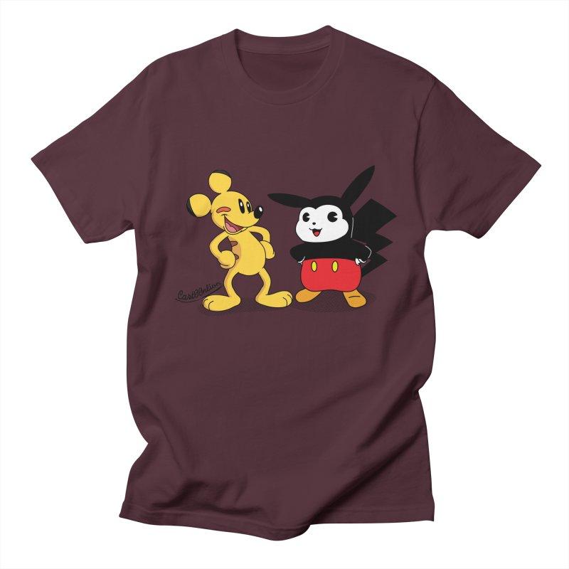 Mickachu Men's T-shirt by Cart00nlion's Artist Shop