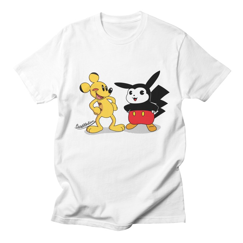 Mickachu Men's T-Shirt by Cart00nlion's Artist Shop
