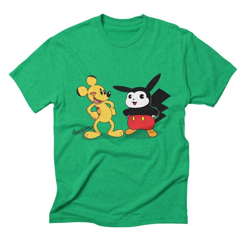 Mickachu Men's Triblend T-Shirt by Cart00nlion's Artist Shop