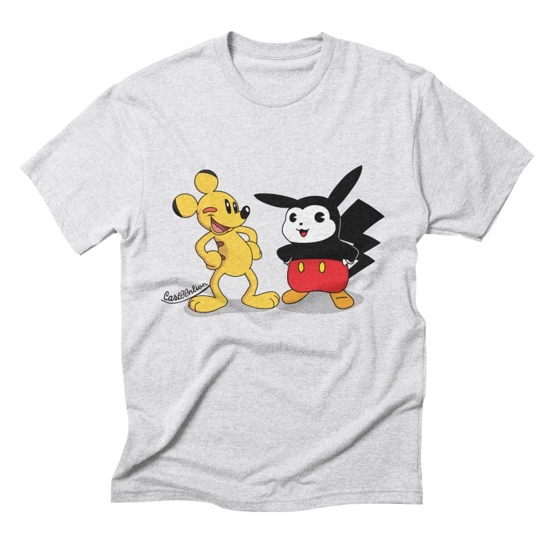 Mickachu Men's Triblend T-shirt by Cart00nlion's Artist Shop