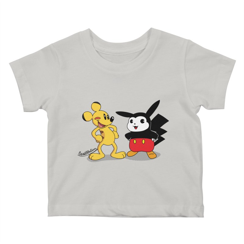 Mickachu Kids Baby T-Shirt by Cart00nlion's Artist Shop