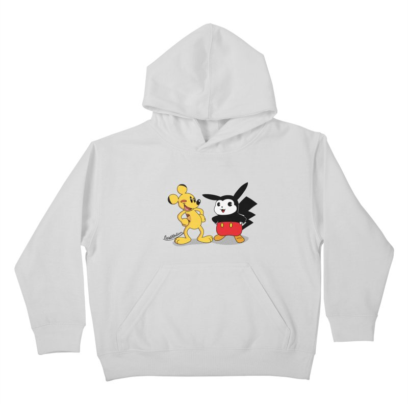 Mickachu Kids Pullover Hoody by Cart00nlion's Artist Shop