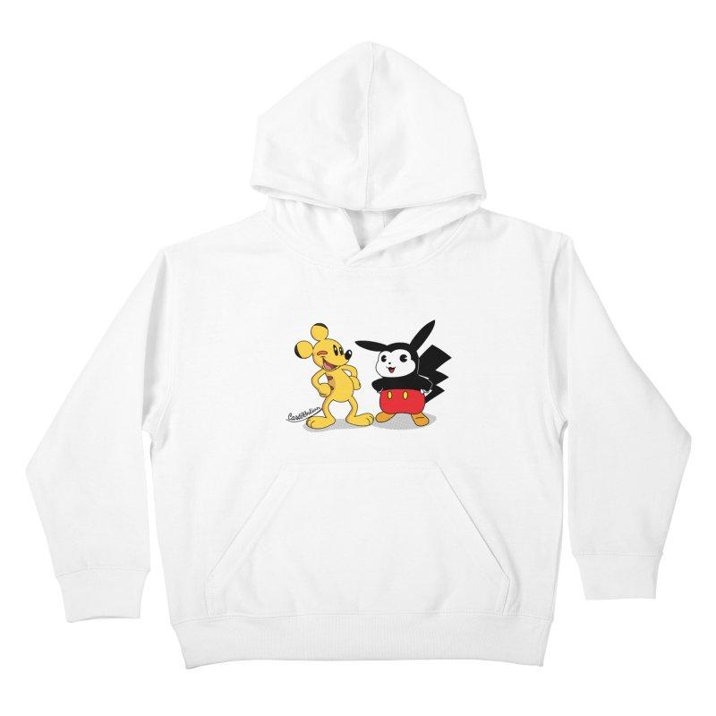 Mickachu Kids Pullover Hoody by Cart00nlion's Artist Shop