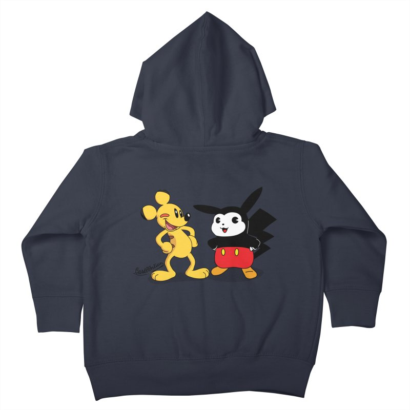 Mickachu Kids Toddler Zip-Up Hoody by Cart00nlion's Artist Shop