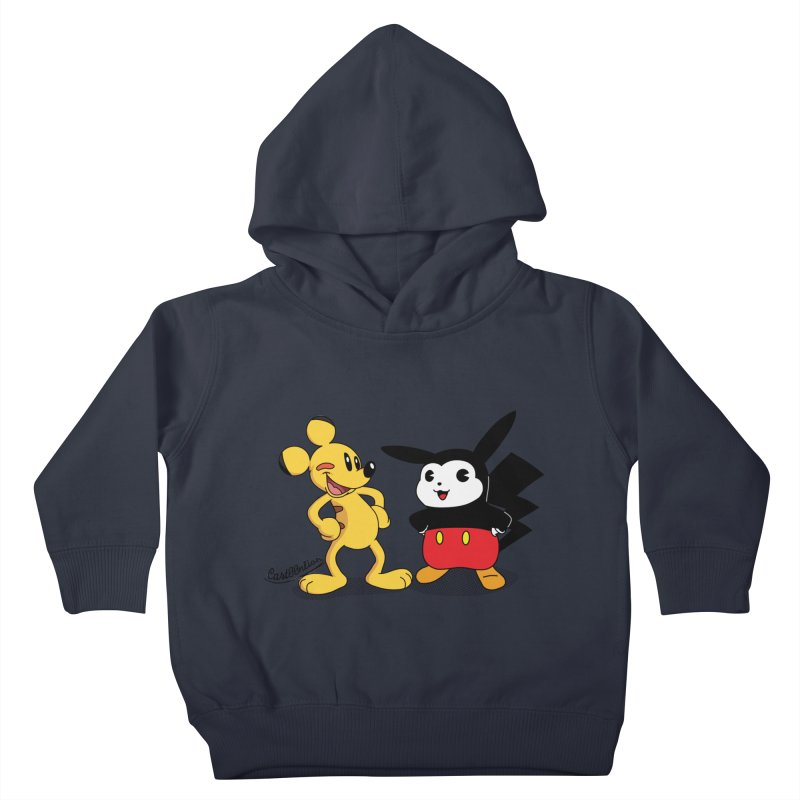 Mickachu Kids Toddler Pullover Hoody by Cart00nlion's Artist Shop
