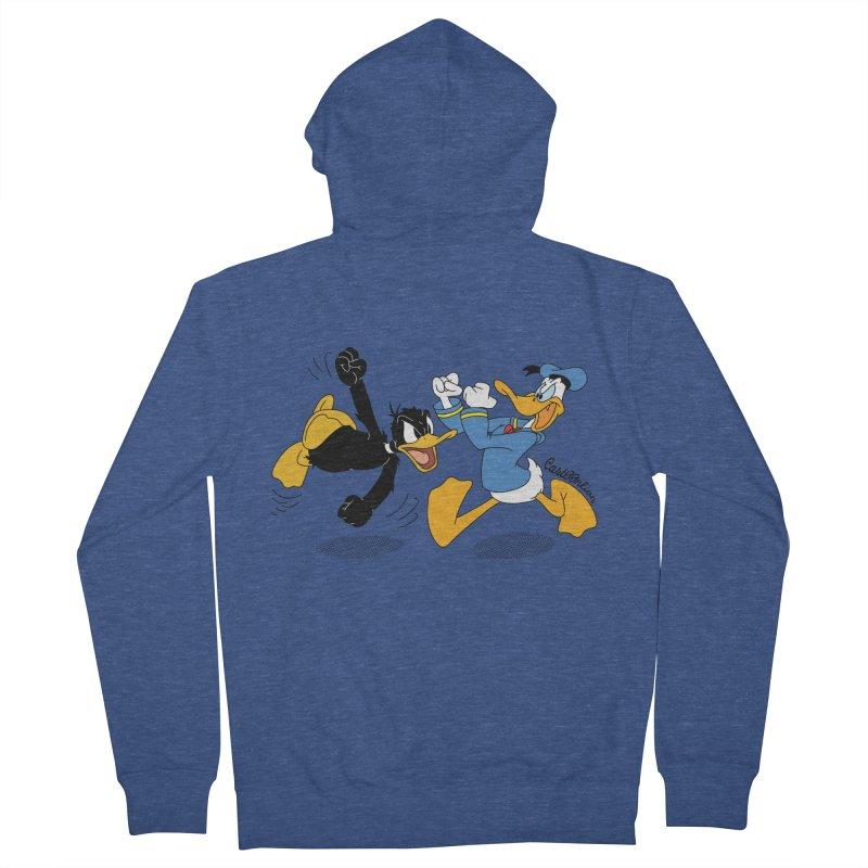 Mr. D. Duck Men's Zip-Up Hoody by Cart00nlion's Artist Shop