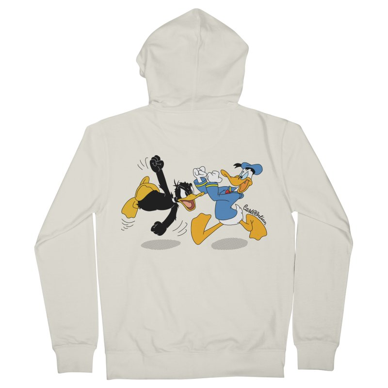 Mr. D. Duck Men's Zip-Up Hoody by Cart00nlion's Artist Shop