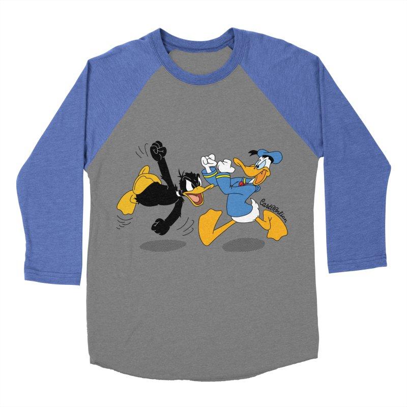 Mr. D. Duck Women's Baseball Triblend T-Shirt by Cart00nlion's Artist Shop
