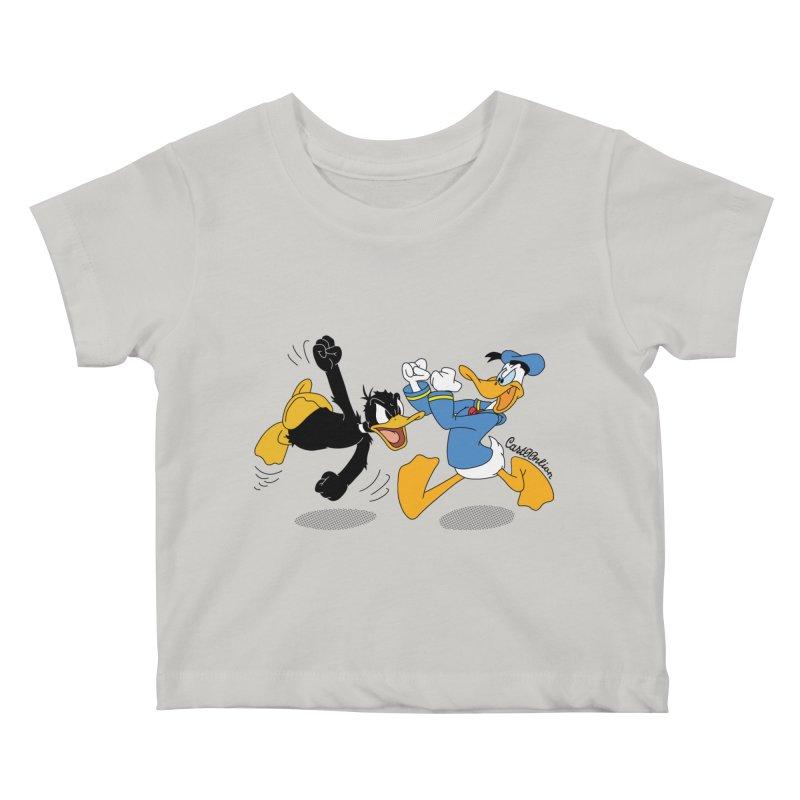 Mr. D. Duck Kids Baby T-Shirt by Cart00nlion's Artist Shop