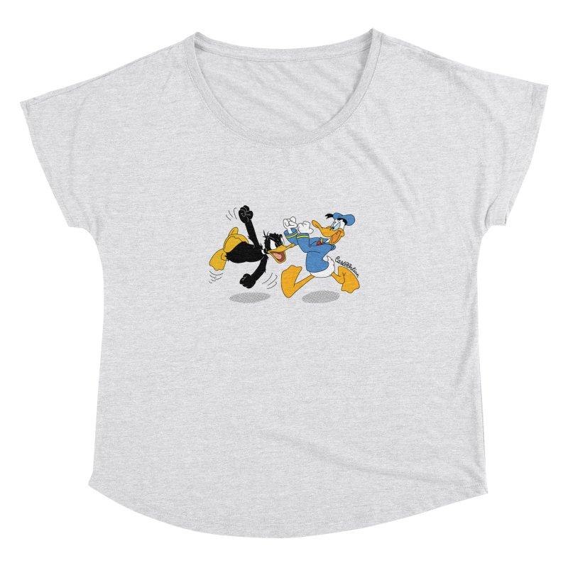 Mr. D. Duck Women's Dolman by Cart00nlion's Artist Shop