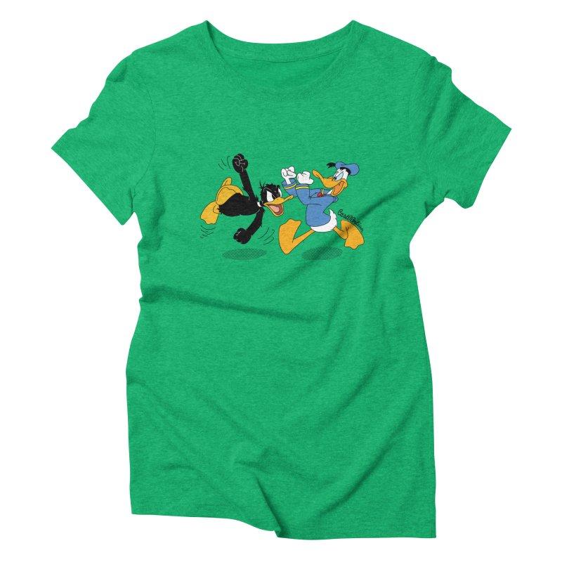 Mr. D. Duck Women's Triblend T-shirt by Cart00nlion's Artist Shop