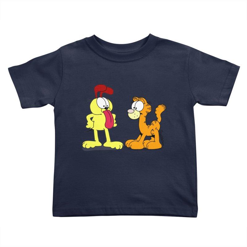 Oddfield Kids Toddler T-Shirt by Cart00nlion's Artist Shop