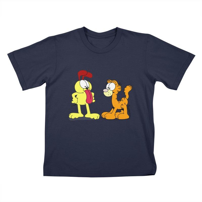 Oddfield Kids T-shirt by Cart00nlion's Artist Shop