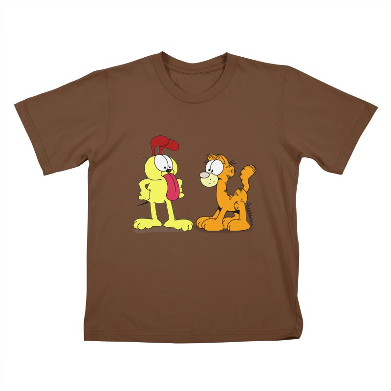 Oddfield Kids T-shirt by Cart00nlion's Artist Shop