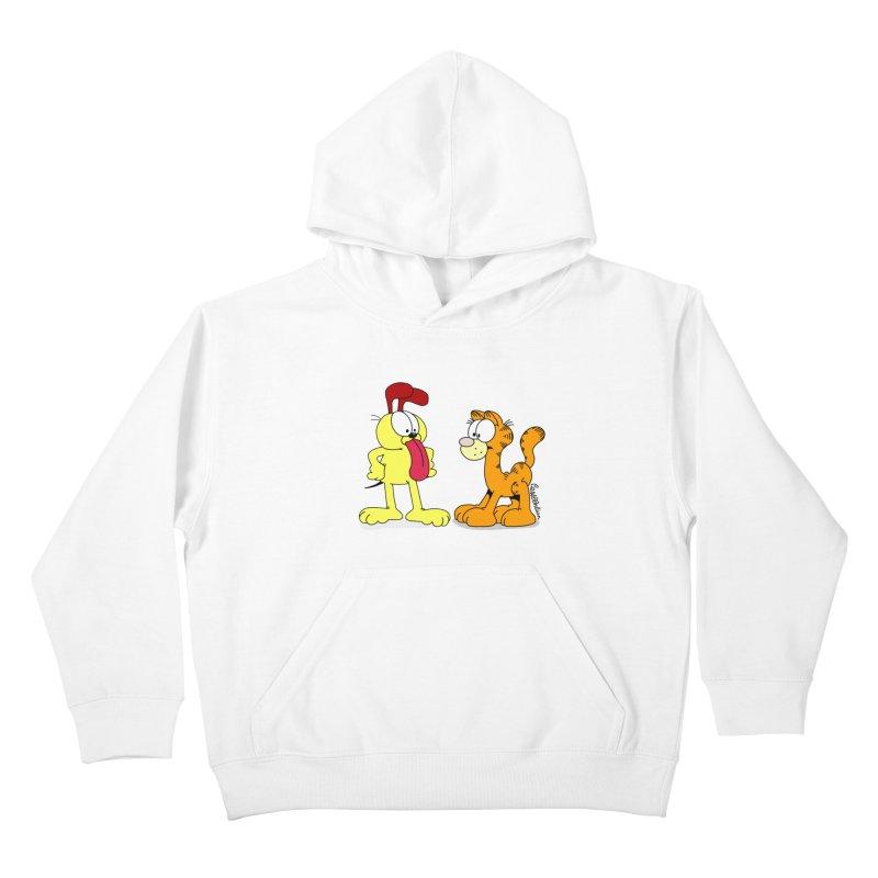 Oddfield Kids Pullover Hoody by Cart00nlion's Artist Shop
