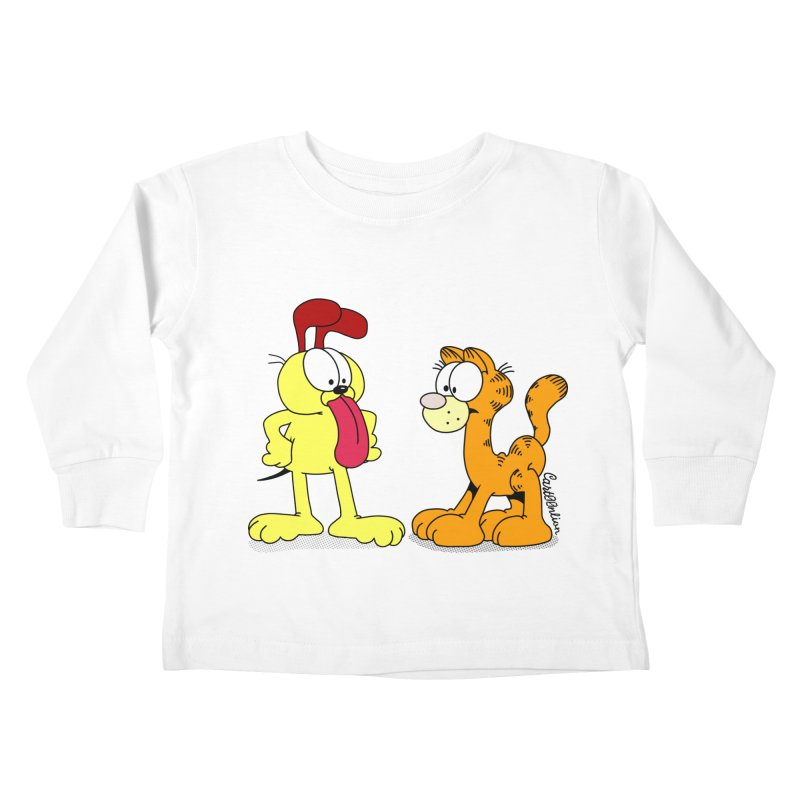 Oddfield Kids Toddler Longsleeve T-Shirt by Cart00nlion's Artist Shop