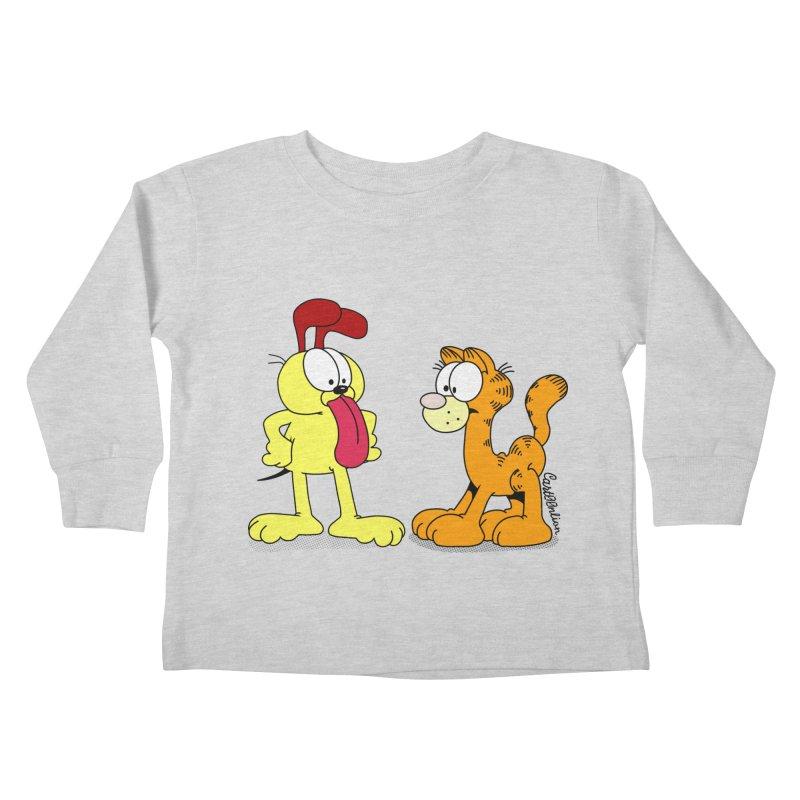 Oddfield Kids Toddler Longsleeve T-Shirt by Cart00nlion's Artist Shop