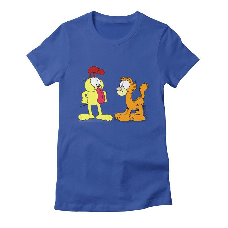 Oddfield Women's Fitted T-Shirt by Cart00nlion's Artist Shop