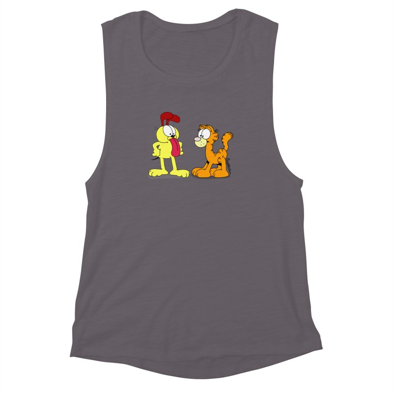 Oddfield Women's Muscle Tank by Cart00nlion's Artist Shop