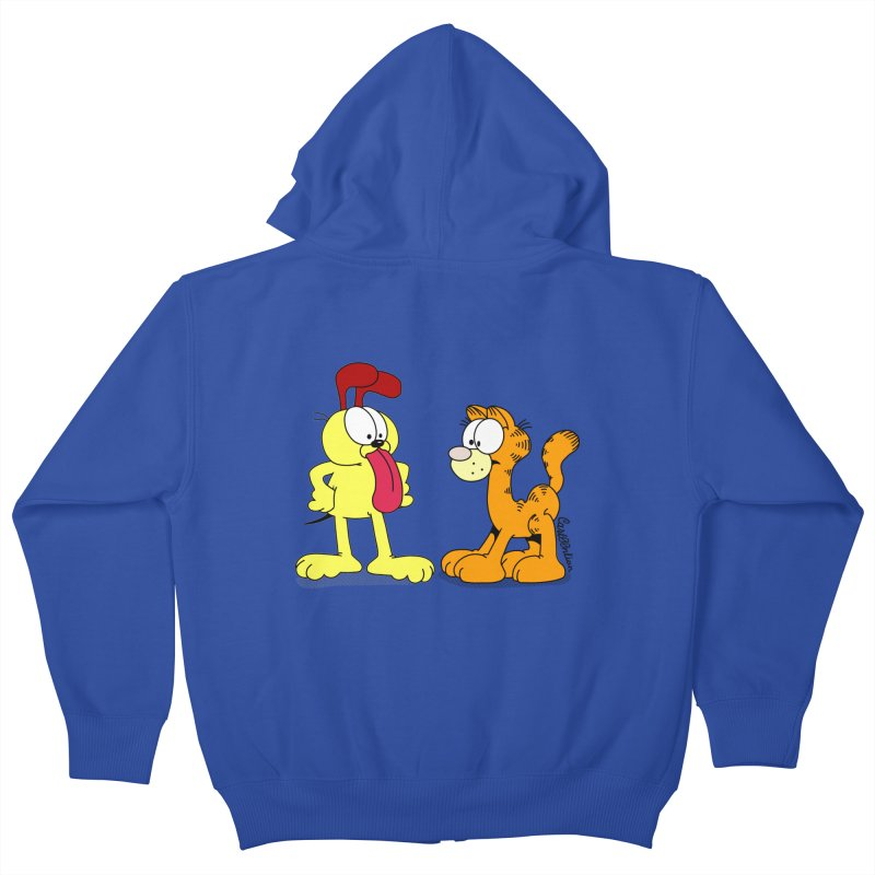 Oddfield Kids Zip-Up Hoody by Cart00nlion's Artist Shop