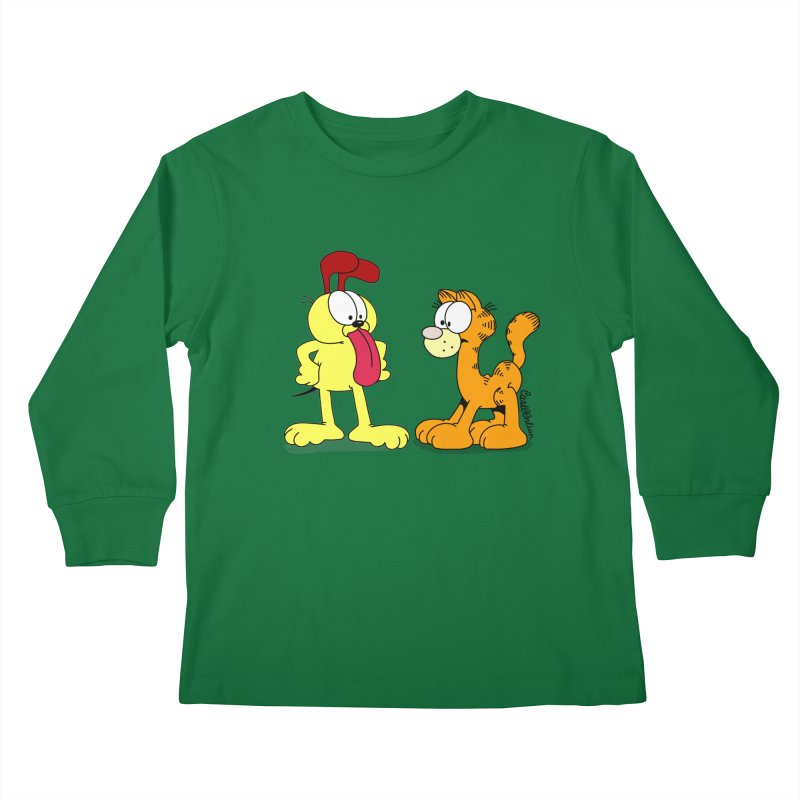 Oddfield Kids Longsleeve T-Shirt by Cart00nlion's Artist Shop