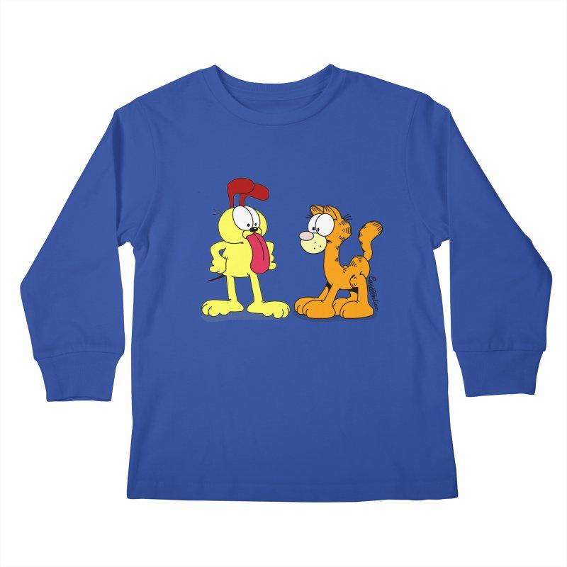 Oddfield Kids Longsleeve T-Shirt by Cart00nlion's Artist Shop