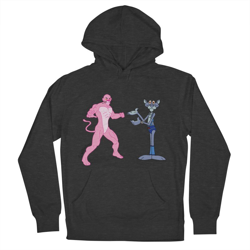 Pink Panthro Women's Pullover Hoody by Cart00nlion's Artist Shop