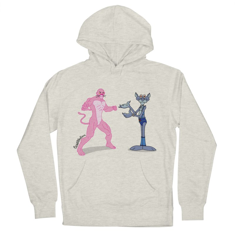 Pink Panthro Men's Pullover Hoody by Cart00nlion's Artist Shop