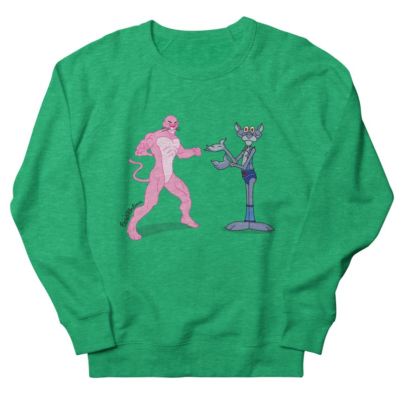 Pink Panthro Men's Sweatshirt by Cart00nlion's Artist Shop
