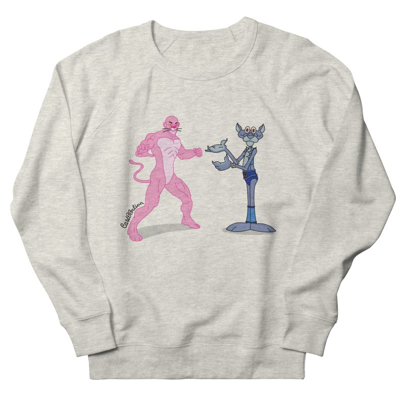 Pink Panthro Men's Sweatshirt by Cart00nlion's Artist Shop