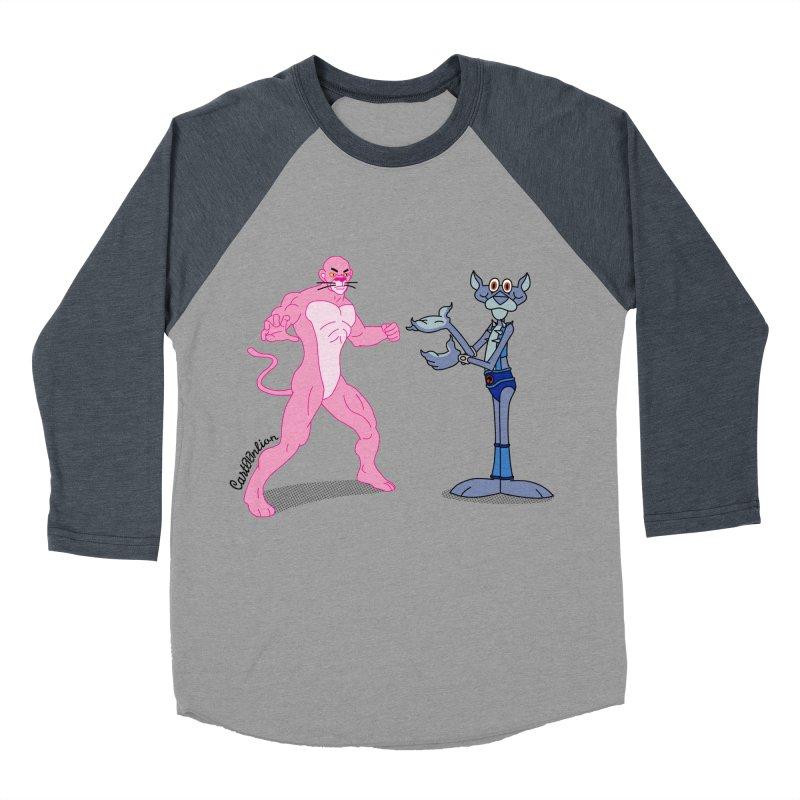 Pink Panthro Women's Baseball Triblend T-Shirt by Cart00nlion's Artist Shop